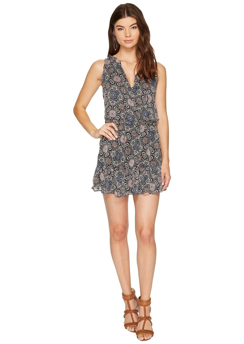 BB Dakota January Printed Fit & Flare Dress