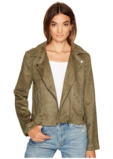 BB Dakota Johanness Woven Faux Suede Jacket