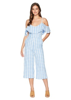 BB Dakota Kande Cotton Gingham Jumpsuit