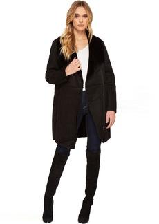 BB Dakota Kelden Faux Suede Shearling Coat