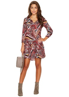 BB Dakota Kelly Printed Dress