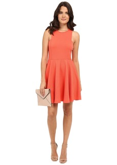 BB Dakota Kennet Textured Knit Fit and Flare Dress