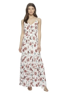 "BB Dakota Kogan ""Pretty Meadows"" Printed Maxi Dress"