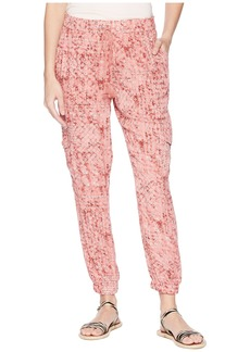 "BB Dakota Kylie ""Beach Batik"" Printed Pants"