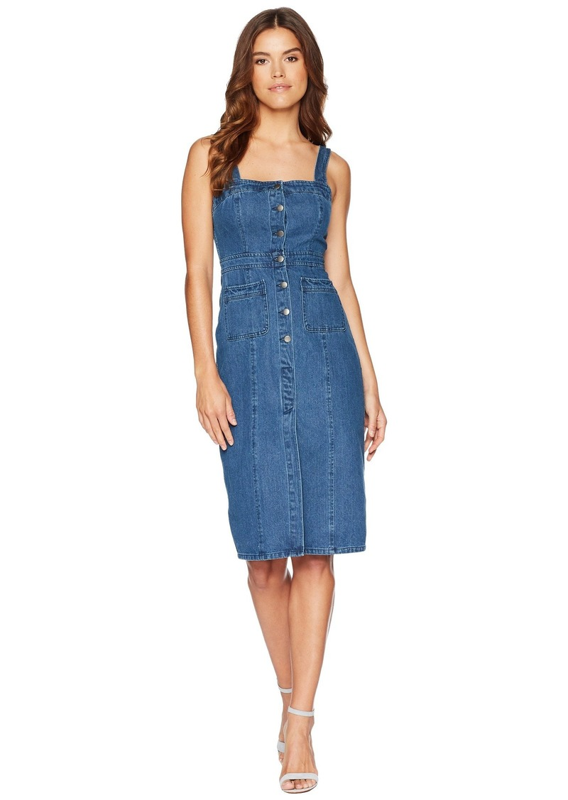 6a22517d96 On Sale today! BB Dakota Lauren Button Front Denim Midi Dress
