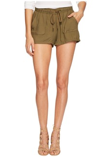 BB Dakota Marianna Rayon Twill Shorts