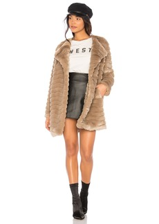 McCoy Faux Fur Coat