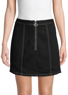 BB Dakota Mini Denim Pencil Skirt
