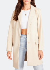 BB Dakota Model Behavior Faux Leather Oversized Blazer - S - Also in: M, L