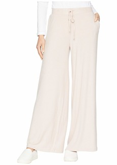 BB Dakota Morning Mood Brushed Rib Wide Leg Pants