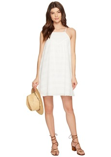 BB Dakota Neilan Textured Cotton Dress with Cotton Eyelet Yoke