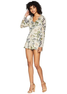 BB Dakota No Ordinary Love Floral Print Romper