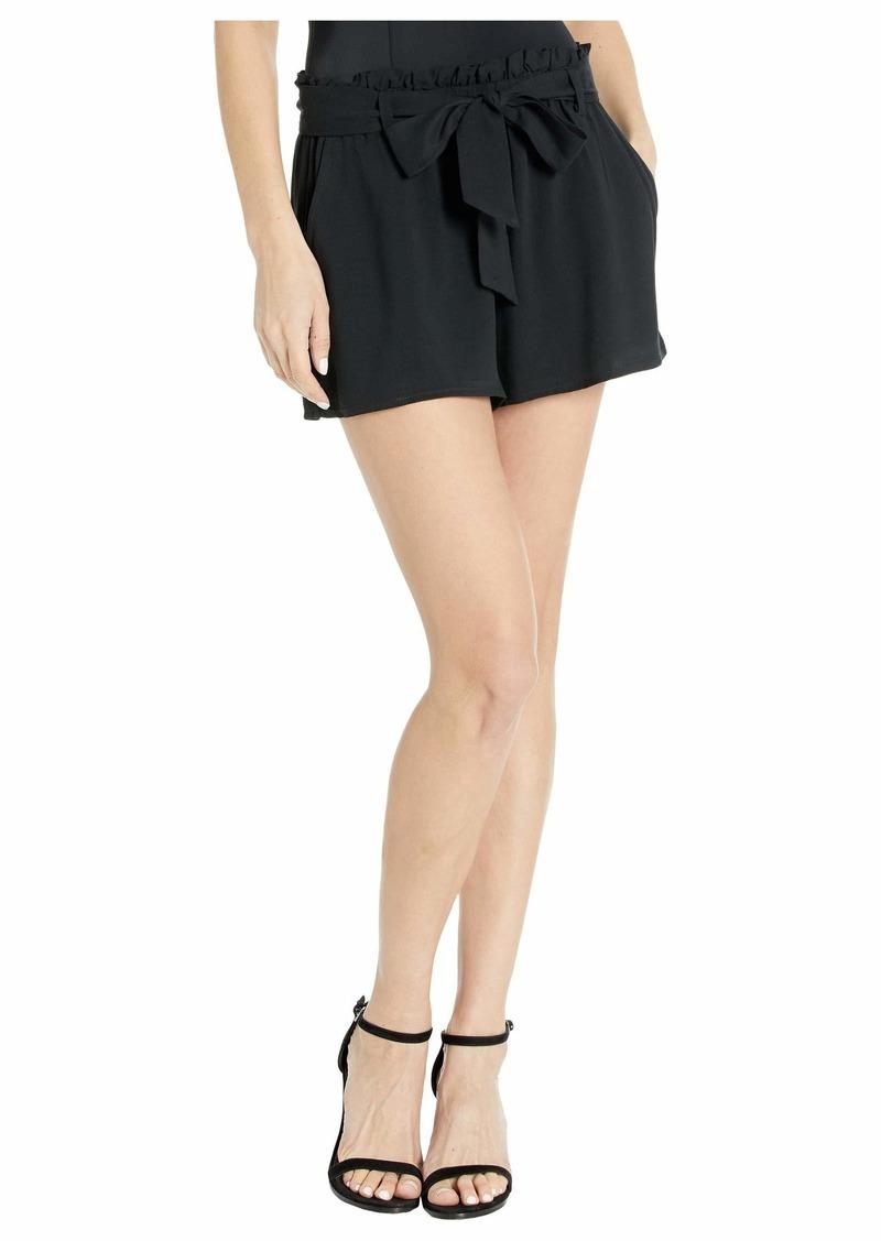 BB Dakota Rayon Twill Paper Bag Shorts