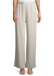 BB Dakota Rebekah Striped Split-Leg Pants