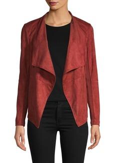 BB Dakota Seamed Foldover-Collar Jacket