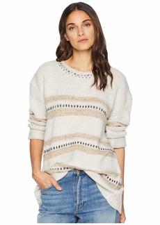 BB Dakota Spice of Life Stripe Pattern Sweater