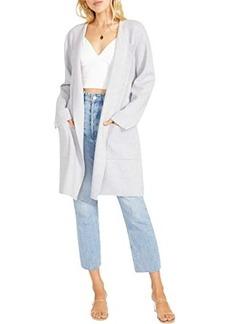 BB Dakota Sweater with You Coat - Sweater Knit Drape Front Coat