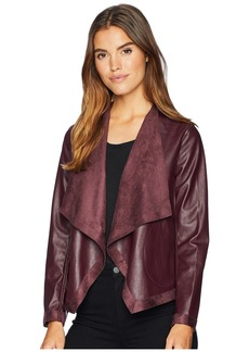 BB Dakota Teagan Reversible Vegan Leather Jacket