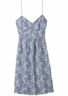 BB Dakota Two-Tone Lace Sweetheart Midi Dress