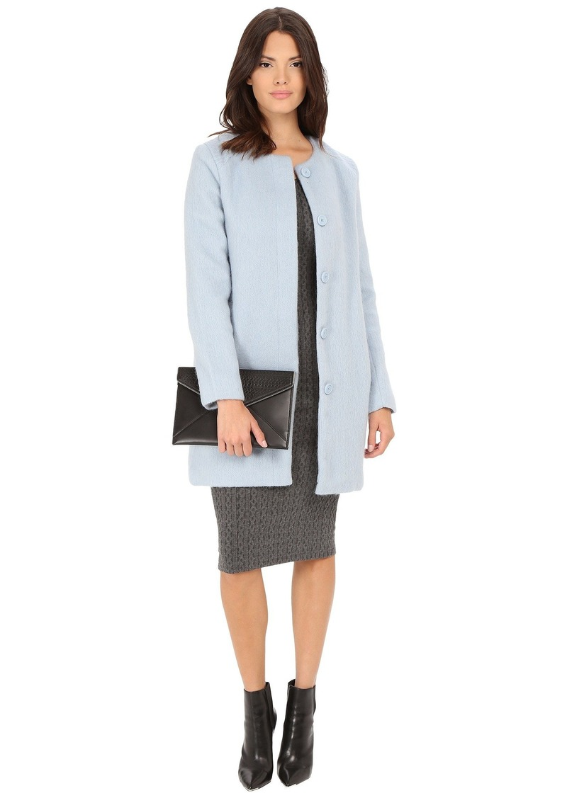 BB Dakota Vianne Brushed Wool Blend Coat