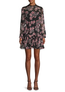 BB Dakota Whiskey Tango Floral Dress
