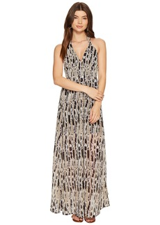 BB Dakota Willow Printed Maxi Dress