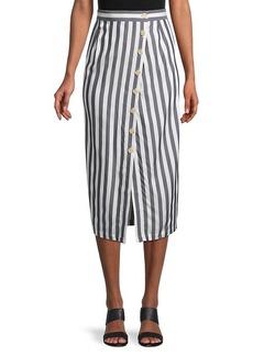 BB Dakota With A Twist Striped Skirt