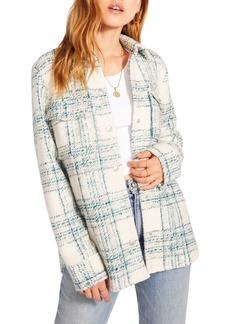 Women's Bb Dakota Brixton Plaid Shirt Jacket