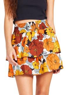 Women's Bb Dakota By Steve Madden Hustle & Amp Floral Skirt