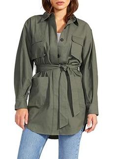 BB Dakota Work For It Jacket - Cotton Twil Shirt Jacket