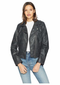 BB Dakota Wrecking Ball Novelty Vegan Leather Jacket