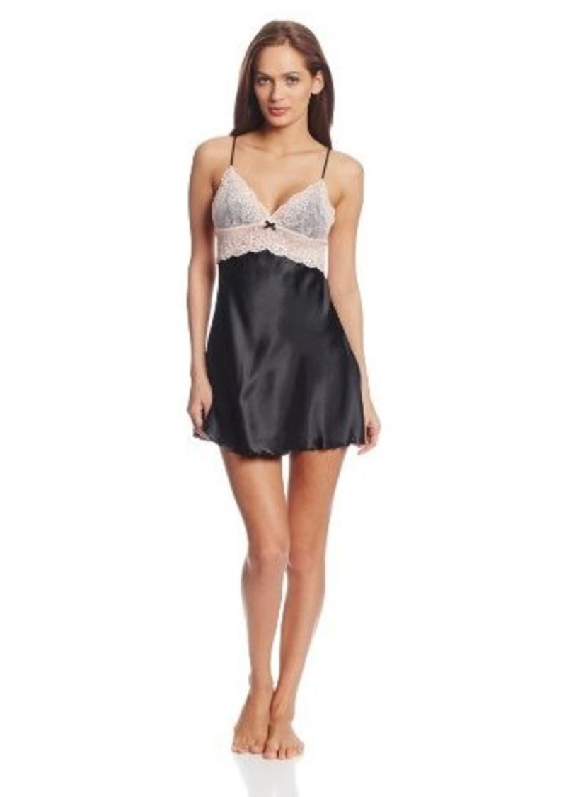 Betsey Johnson Women's Sexy Satin Slip