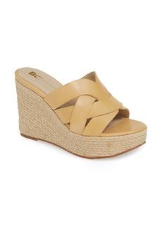 BC Footwear Eden Vegan Espadrille Wedge (Women)
