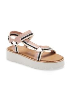 BC Footwear Eye On The Prize Quarter Strap Platform Sandal (Women)