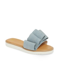 BC Footwear Fun for All Ages Pleated Sandal (Women)