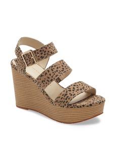 BC Footwear Individuality Vegan Platform Wedge Sandal (Women)