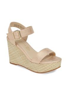 BC Footwear Peonies Vegan Wedge Sandal (Women)