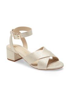 BC Footwear Smell The Roses Vegan Ankle Strap Sandal (Women)