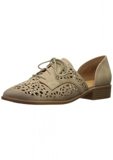 BC Footwear Women's Happy Youre Here Oxford Flat