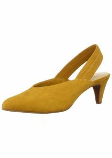 BC Footwear Women's Liter Pump Mustard v-Suede