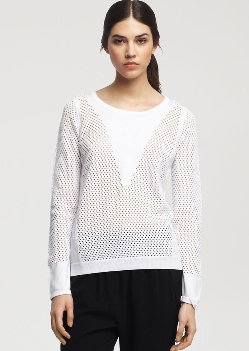 Kenneth Cole New York Sweater - Bristol Open Knit