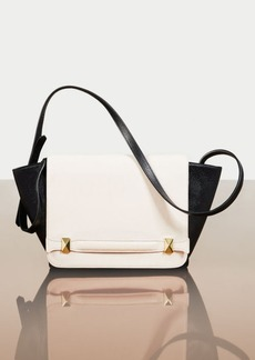 BCBG Agatha Color-Blocked Leather Satchel