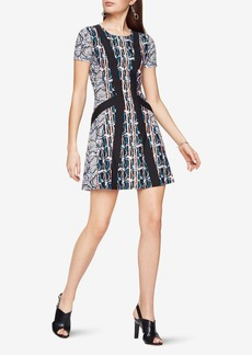 Aleah Paisley Print Dress