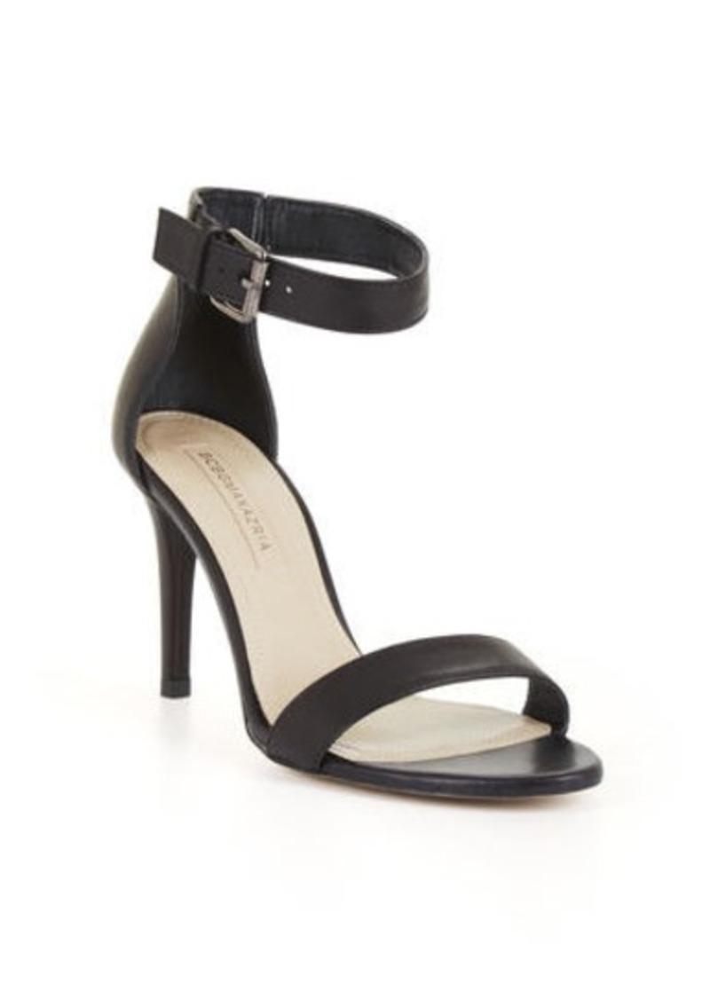 bcbg aleksantra high heel leather sandal shoes shop it