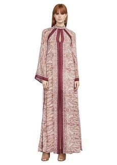 Alia Baroque Paisley Maxi Dress