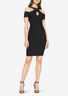 Ally Cold-Shoulder Halter Dress