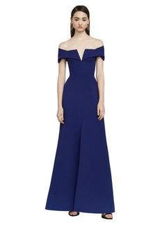 Amalie Off-The-Shoulder Gown