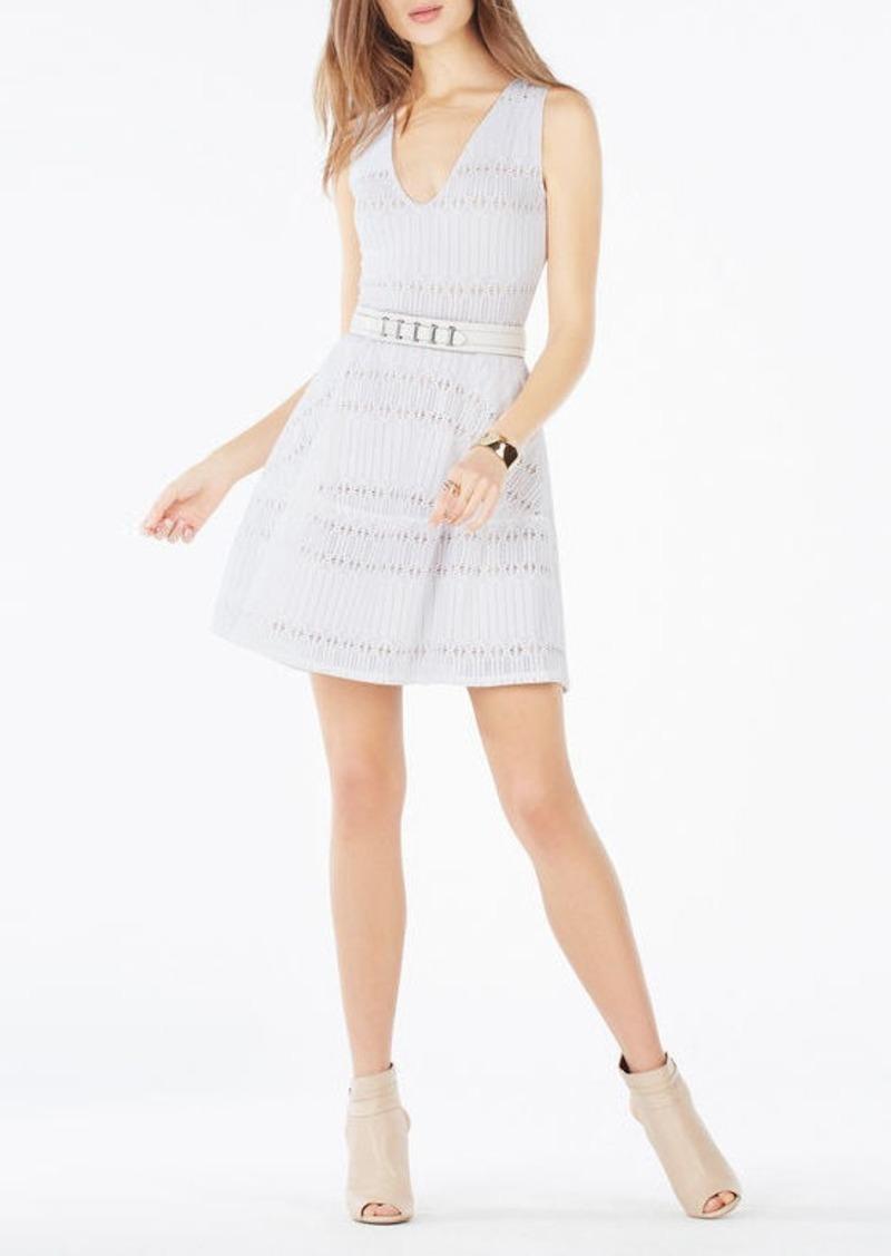 BCBG Amberly Sleeveless Lace Dress