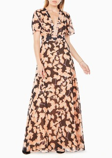 Anaelle Floral-Print Maxi Dress