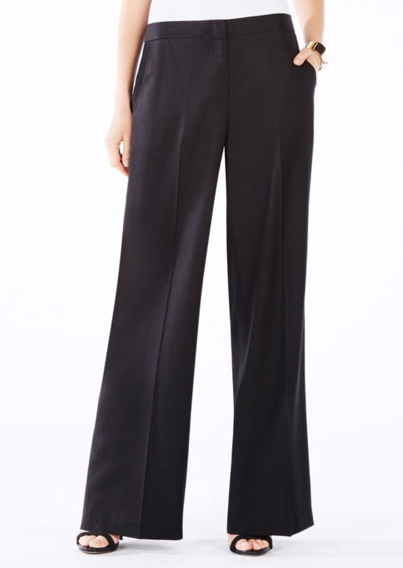 BCBG Anthony Wide-Leg Trouser
